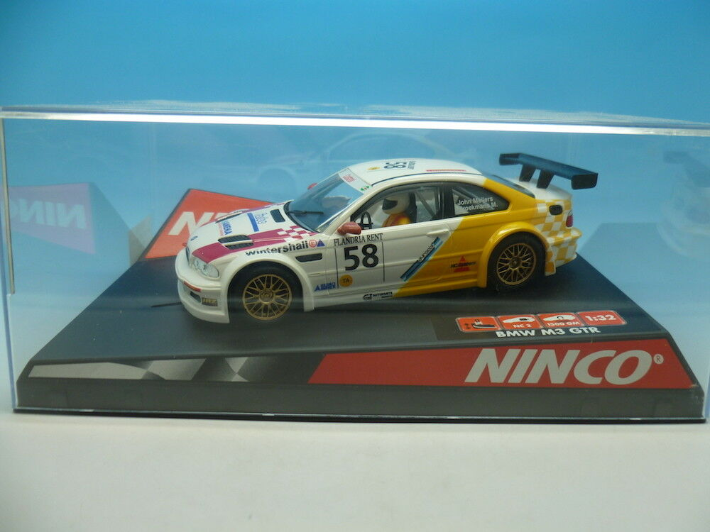 Ninco 50295 BMW M3 GTR Meijers, mint unused