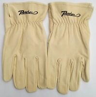 One Pair Rancher By Plainsman Cabretta Goatskin Leather Gloves Sm & Med Only