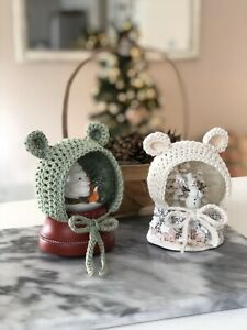 Crochet Polar Bear Hat Pattern - Repeat Crafter Me | 300x225