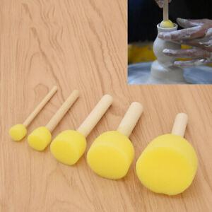 5Pcs Ceramic Sponge Rod Set Water Absorbing Sculpture Polyemer Pottery Tool DIY