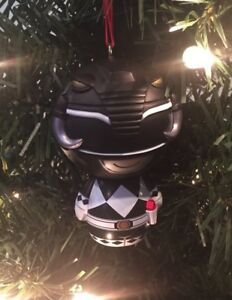 Power Rangers Christmas Tree.Details About Mighty Morphin Power Rangers Christmas Ornament Black Ranger Ornament Zach