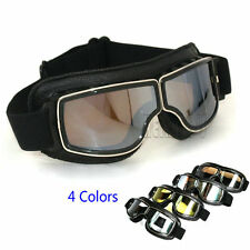 Vintage Scooter Goggle Pilot Ski Sunglasses Retro Eye Helmet goggles for Harley