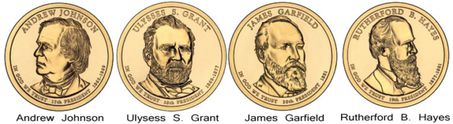 2011 P /& D James Garfield Presidential Set  *MINT CELLO*  **FREE SHIPPING