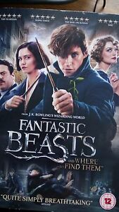 Fantastic-Beasts-and-where-to-find-them-DVD-J-K-Rowling-SEALED