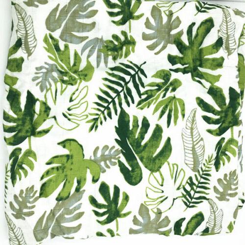 Baby Swaddle Wraps Cotton Muslin Blankets Newborn Muslin 70/% Bamboo 30/% Cotton