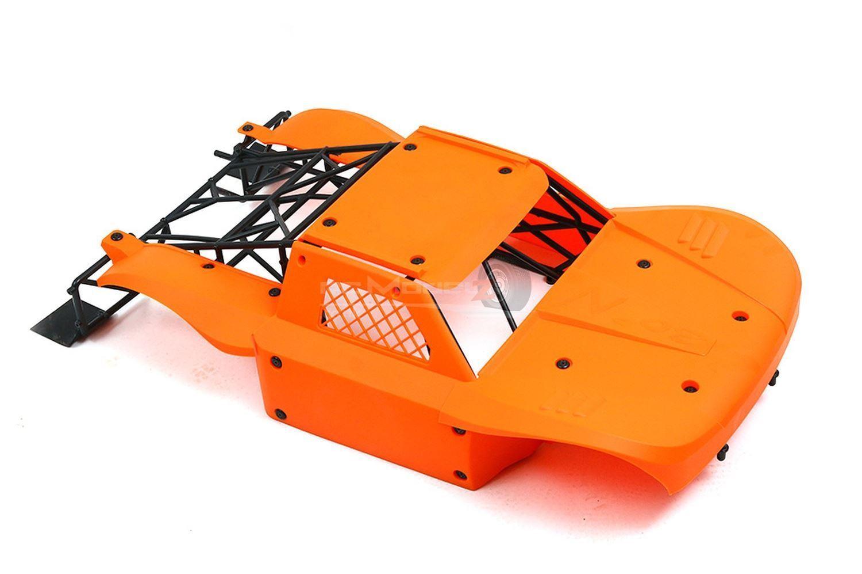 30 gradi nord DTT Big Flex Flessibile cassa arancione per Losi 5ive KM X2