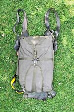 BRITISH ARMY PARA  FULL HARNESS ASSEMBLY WITH IRVIN LABELS & PARACHUTE PACK.
