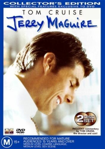 1 of 1 - Jerry Maguire (DVD, 2003, 2-Disc Set) Tom Cruise R4🇦🇺Brand New Sealed