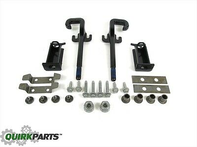 2011-2017 Jeep Grand Cherokee FRONT Tow Hook Kit Set MOPAR GENUINE OEM BRAND NEW