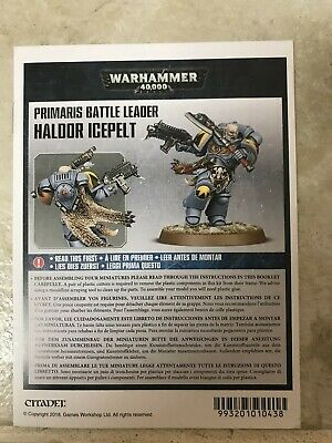 Tooth and Claw Primaris Battle Leader Haldor Icepelt