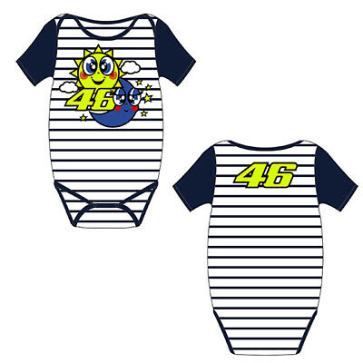 New Official Valentino Rossi VR46 Baby Body Suit VRKBB 207101