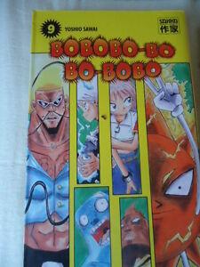 Raro-Bobobo-Bo-Bo-Bobo-Vol-9-Sawai-Yoshio-Sakka-Manga-Eo-Libro-como-Nuevo