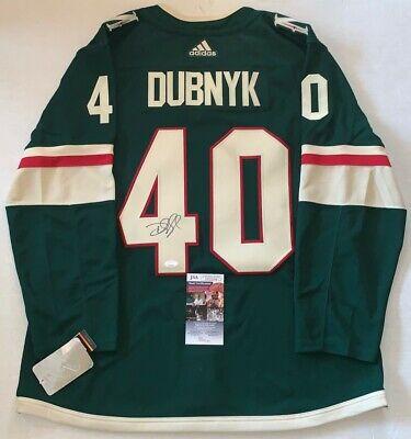 Devan Dubnyk signed Minnesota Wild Adidas Authentic Adizero jersey JSA | eBay
