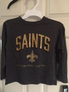 aec15daae New Orleans Saints Youth Size Large 14 16 shirt NWT super nice NFL ...