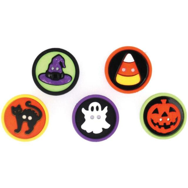 Jesse James Dress It Up Buttons, Sewing Scrapbook 'Sew Fun Halloween' Holiday