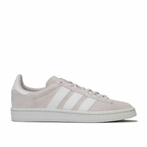 Details about Womens adidas Originals Campus Trainers In Orchid Tint / Footwear White /
