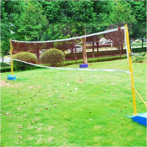 Badminton Tennis Volleyball Net Sports Mesh For Beach Garden Indoor Outdoor 20FT