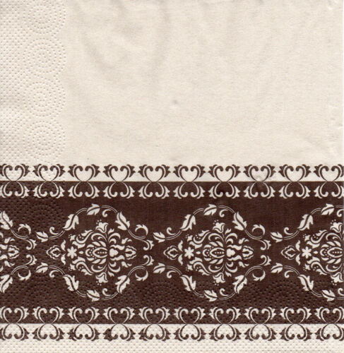 1165 4 servilletas napkins tovaglioli serviettentechnik ornamentos