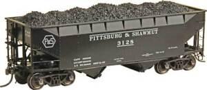 HO-KADEE-7058-PITTSBURG-amp-SHAWMUT-50-Ton-AAR-Standard-2-Bay-Offset-Open-Hopper