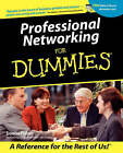 Professional Networking For Dummies by Donna Fisher (Paperback, 2001)