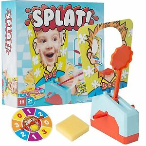 New-Splat-Activity-Game-Pie-Face-Children-4-Family-Fun-4-Player-Toy-1373446