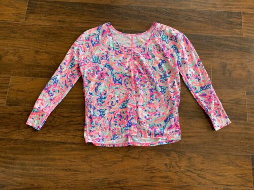 Lilly Pulitzer Luxletic T Shirt Multi la Playa Lon