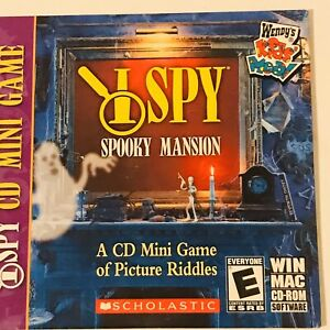 I-Spy-Spooky-Mansion-A-CD-Mini-Game-of-Picture-Riddles-Win-Mac-CD-ROM-Rated-E