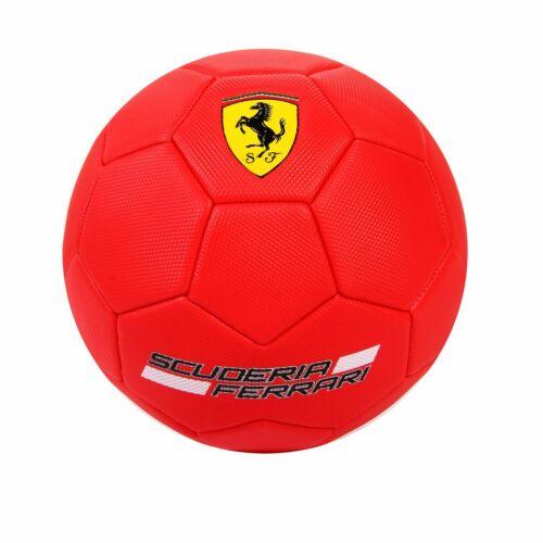 Ferrari Official Size 5 Standard Football Soccer Ball Team Training with Pump