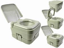 Portable Boat Toilet : L portable camping toilet flush porta travel vehicle boat toilet