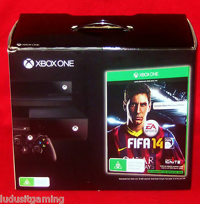 XBOX ONE CONSOLE DAY ONE EDITION Boxed + Kinect Includes Day One Achievement XB1