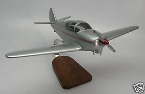 Details about GC-1B Swift Globe Temco Private GC1B Airplane Desktop Wood  Model Big New