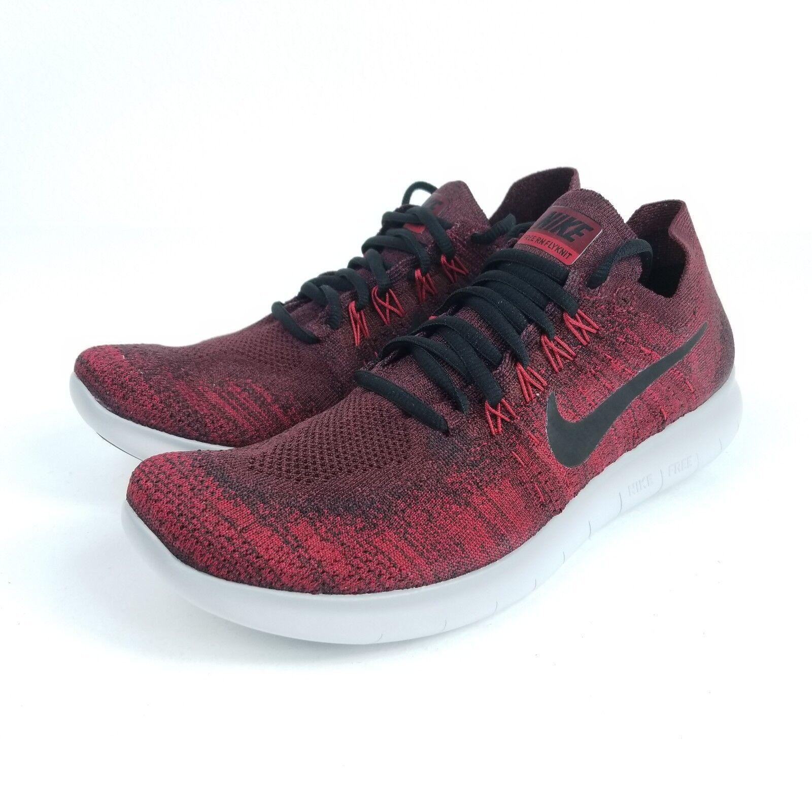 Nike libera rn flyknit 2017 Uomo sz 10 scarpe scure 880843 squadra rosso - nero 880843 scure 606 a3c3bf