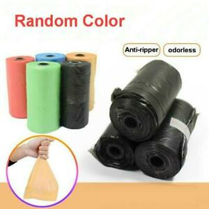 Small Garbage Bag Trash Bags Disposable Plastic Home Kitchen Tool 5 rolls//set