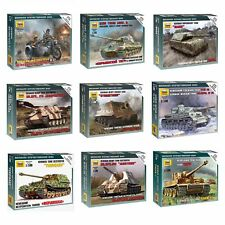 "Model Kits ""German tanks / motorized forces 1939-43 WWII"" 1:100 Zvezda, part #2"