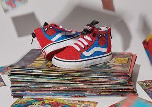 0c4cf71902 Image is loading Vans-SK8-HI-ZIP-Marvel-Spider-Man-Toddler-