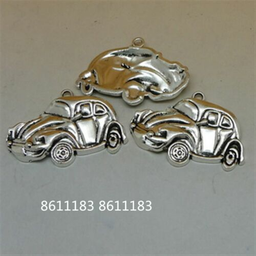 4pc Tibetan Silver CAR Pendant Bracelet Charms Jewelry Accessories  GP851