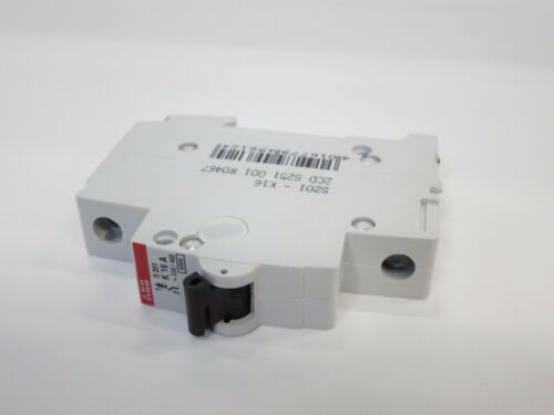 230//400 LOT OF 10 ABB S201-K16A S271 CIRCUIT BREAKER SYSTEM PROM COMPACT