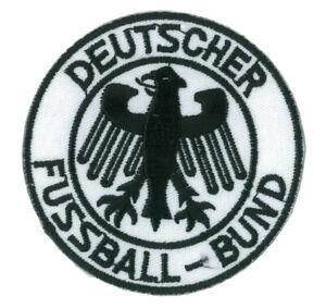 Patch-ecusson-patche-Deutscher-Fussball-Bund-thermocollant-applique-brode-foot