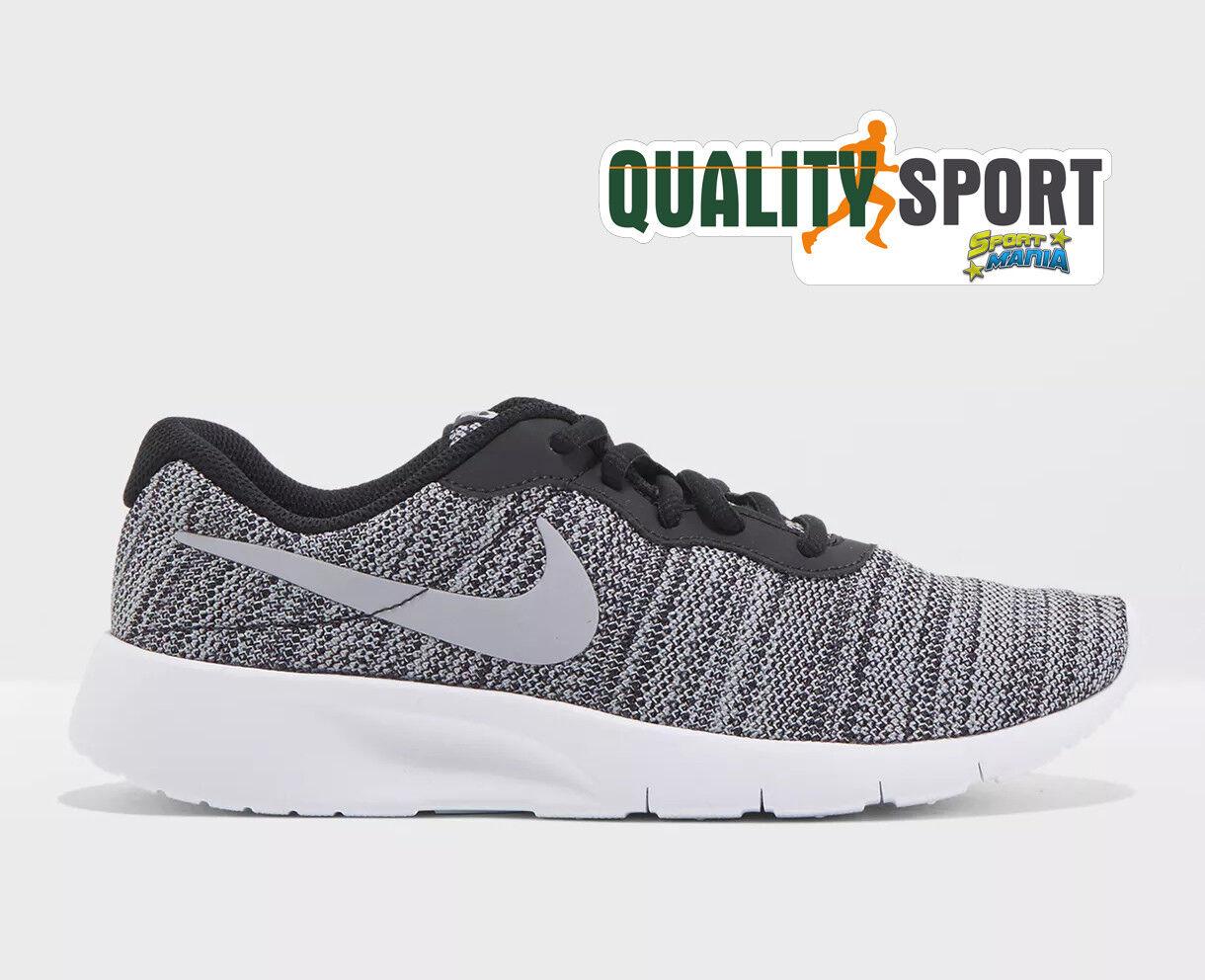 Nike Tanjun Nero Grigio Scarpe Chaussures Donna Ragazzo Baskets 818381 019 2018