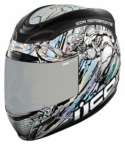 Icon Airmada Lepricon Full Face Motorcycle Motorbike Bike Helmet