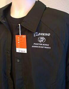 LARGE  BOEING 100TH ANNIVERSARY JACKET PHANTOM WORKS                       shirt