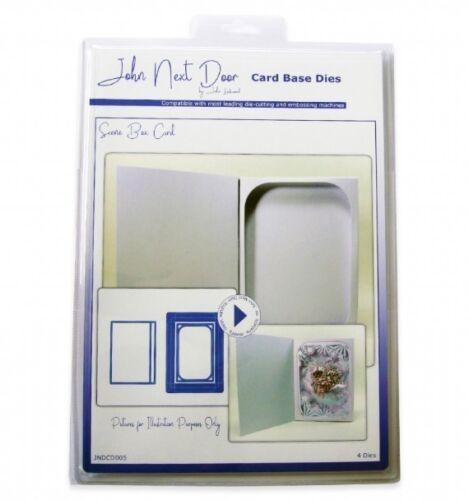 JOHN NEXT DOOR Card Base Die Collection SCENE BOX CARD JNDCD005 John Lockwood