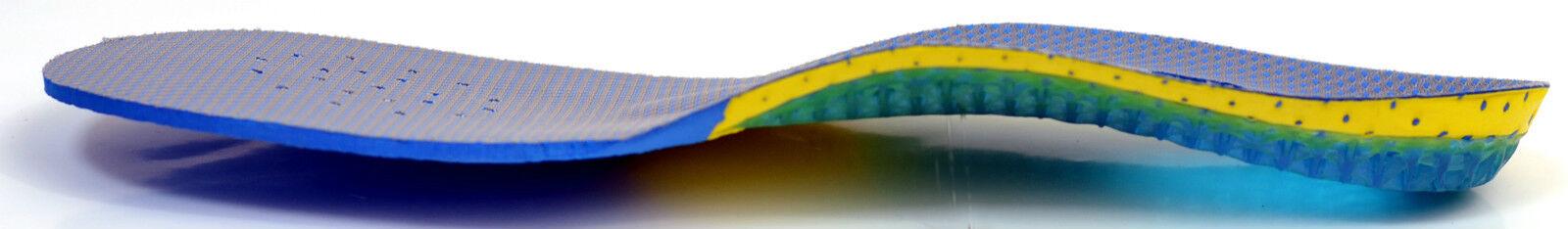 5 Paar neu Einlegesohlen Sporteinlagen Gel Fußbett neu Paar comfort Schuheinlage Insoles d1beca