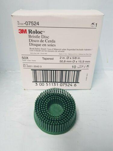 """3M Scotch-Brite Roloc Bristle Disc 50mm 2/"""""""