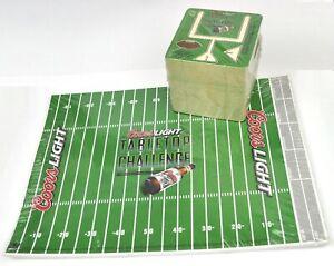 50-Coors-USA-Bier-Bierdeckel-American-Football-Spiel-Unterlagen-Untersetzer