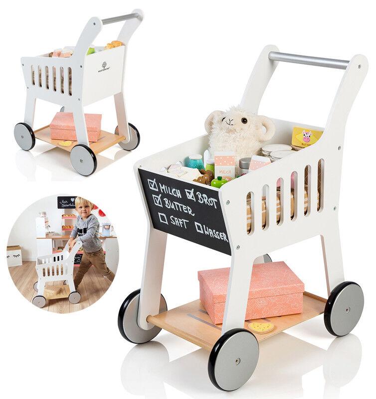 Einkaufswagen für Kinder - Musterkind Einkaufswagen - Kinder Einkaufswagen Holz