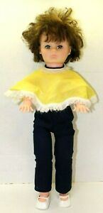 Vintage-1974-Lovee-Doll-Brunette-Sleepy-Eyes-And-Poncho-Outfit-With-Shoes-23-034