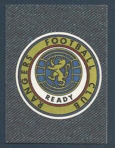 Details About Panini Jeans Fussball Europa 1978 Rangers Team Badge