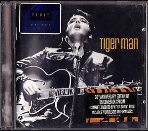 ELVIS PRESLEY CD ALBUM TIGER MAN - Italia - ELVIS PRESLEY CD ALBUM TIGER MAN - Italia