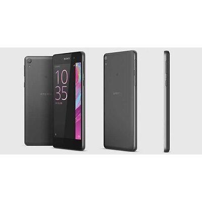 """Brand New Sony Xperia E5 16GB 5.0"""" Graphite  Black Colour Android 6.0 Unlocked."""